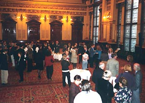 Reception at the Banqueting Hall in the City Chambers