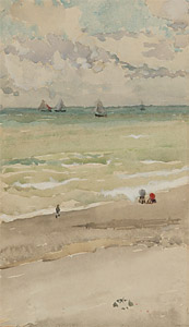The Seashore, watercolour, Freer Gallery of Art, Washington, DC, M.1031